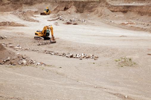Earth Mover「Excavator and dozer」:スマホ壁紙(9)