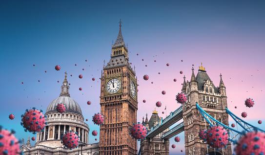 London Bridge - England「Virus Spreading In The City」:スマホ壁紙(4)