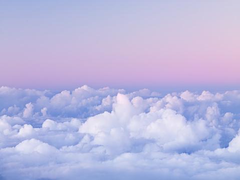 Cumulus Cloud「First Light on Clouds over Haleakala National Park」:スマホ壁紙(5)