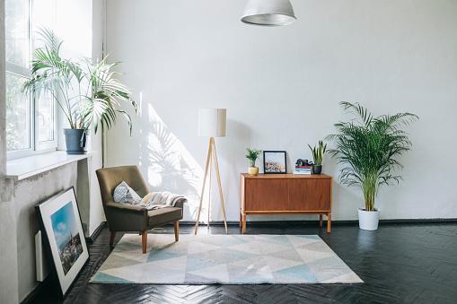Studio Apartment「Modern loft apartment」:スマホ壁紙(14)