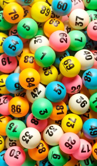 Number「Lottery Balls」:スマホ壁紙(1)