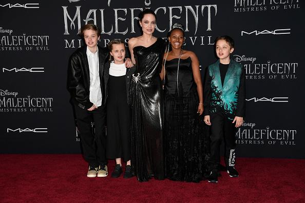 """アンジェリーナ・ジョリー「World Premiere Of Disney's """"Maleficent: Mistress Of Evil"""" - Red Carpet」:写真・画像(11)[壁紙.com]"""