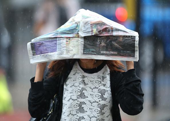 Torrential Rain「Heavy Rain In London」:写真・画像(2)[壁紙.com]