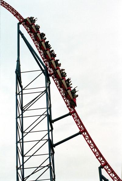 Rollercoaster「SIX FLAGS AMUSEMENT PARK」:写真・画像(15)[壁紙.com]