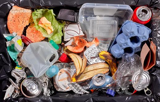 Industry「Rubbish in bin unsorted」:スマホ壁紙(14)