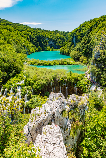 River「Plitvice Waterfalls, Plitvicka Jezera, National Park, Croatia」:スマホ壁紙(3)