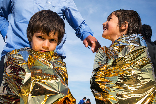 Mediterranean Sea「Refugees On Lesbos」:写真・画像(3)[壁紙.com]