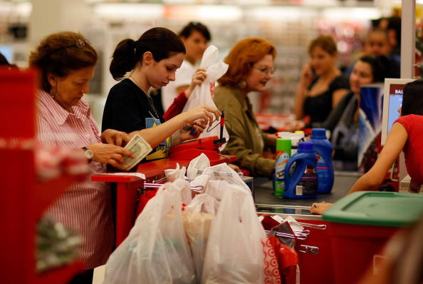 In A Row「Monthly Consumer Prices Continue To Fall At Record Rate」:写真・画像(12)[壁紙.com]