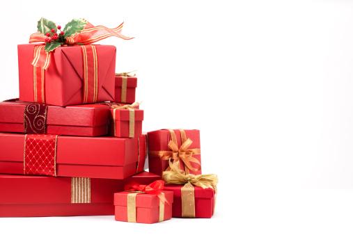 Christmas Paper「Christmas Gifts」:スマホ壁紙(12)