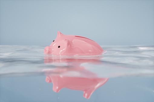 Crisis「Sinking Piggy Bank」:スマホ壁紙(6)