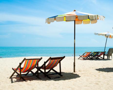 Deck Chair「Beach scene, Butu Ferringhi, Penang, Malaysia」:スマホ壁紙(5)