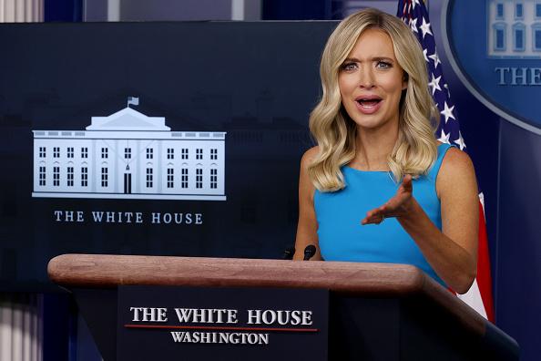 James Brady Press Briefing Room「White House Press Secretary Kayleigh McEnany Holds Daily Press Briefing」:写真・画像(15)[壁紙.com]