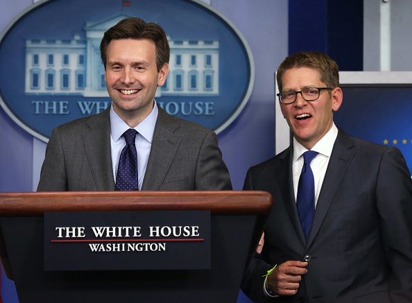 James Brady Press Briefing Room「White House Press Secretary Jay Carney Resigns, Josh Earnest Replaces Carney」:写真・画像(13)[壁紙.com]