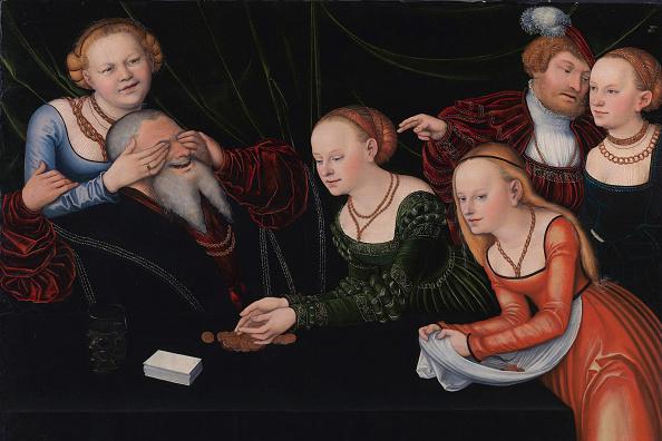 Renaissance「Old Man Beguiled By Courtesans」:写真・画像(18)[壁紙.com]