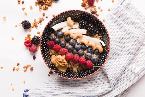 Nut - Food「Smoothie - granola」:スマホ壁紙(1)