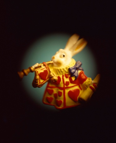 Alice in Wonderland「Rabbit with horn」:スマホ壁紙(3)