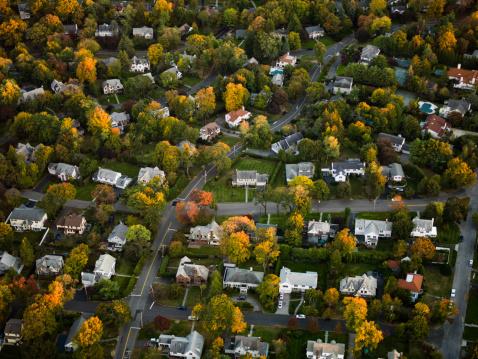Development「Aerial photography of suburbs, NY」:スマホ壁紙(7)