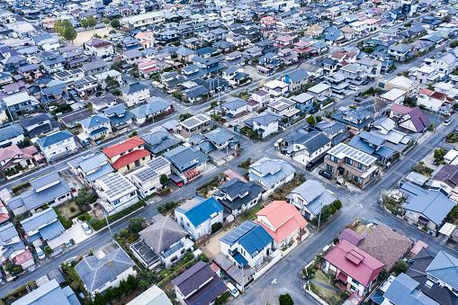 Continuity「Aerial photos of big town」:スマホ壁紙(19)