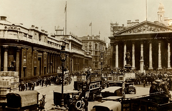 1900-1909「The Bank Of England And Royal Exchange」:写真・画像(15)[壁紙.com]
