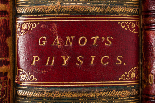 Hardcover Book「Ganot's Physics」:スマホ壁紙(5)