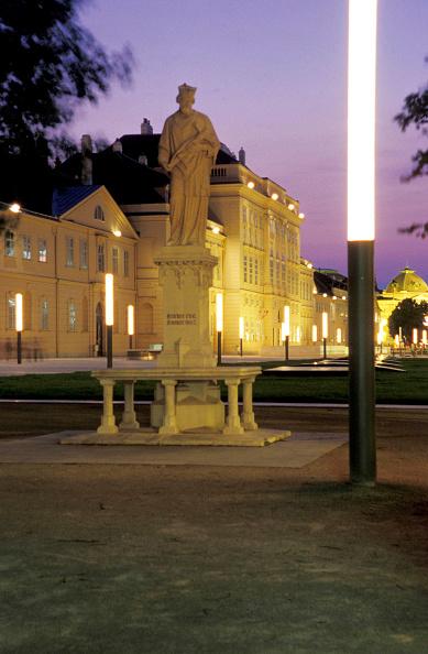 Light Trail「Vienna, Museumsquartier」:写真・画像(4)[壁紙.com]