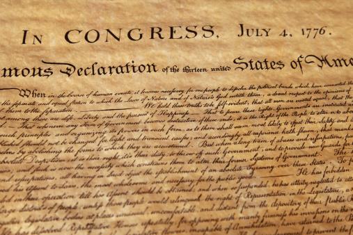 Calligraphy「Declaration of Independence」:スマホ壁紙(17)