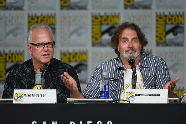 "David Silverman「Comic-Con International 2015 - ""The Simpsons"" Panel」:写真・画像(16)[壁紙.com]"