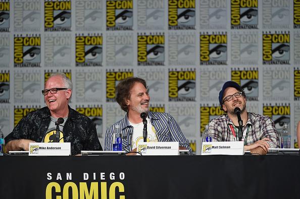 "David Silverman「Comic-Con International 2015 - ""The Simpsons"" Panel」:写真・画像(12)[壁紙.com]"