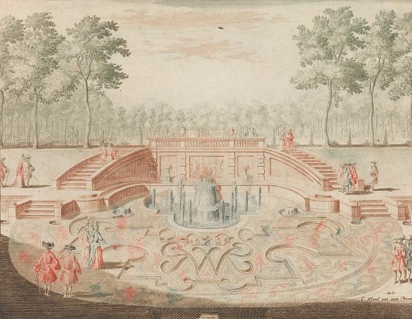 Flowerbed「De Fontein Van De Koninglijke Door-Eengevlochte Naam; Voor De Veiver」:写真・画像(17)[壁紙.com]