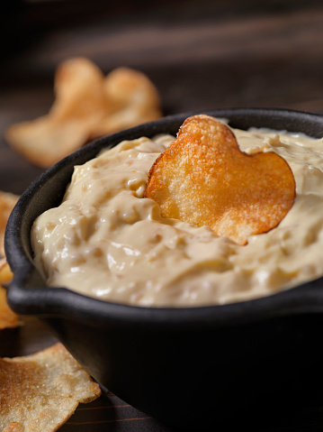Onion Soup「French Onion Dip with Hand Made Potato Chips」:スマホ壁紙(16)