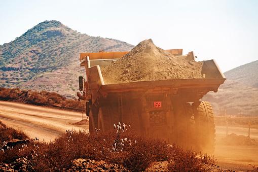 Construction Vehicle「Dumper truck」:スマホ壁紙(2)