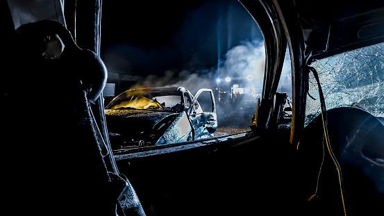 Problems「Car accident」:スマホ壁紙(10)