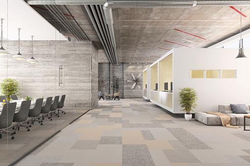 Simplicity「Modern business office interior」:スマホ壁紙(11)