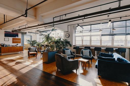 New Business「Modern business - coworking interior」:スマホ壁紙(7)