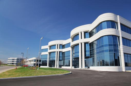 Convention Center「Modern Business in an Industrial District」:スマホ壁紙(2)