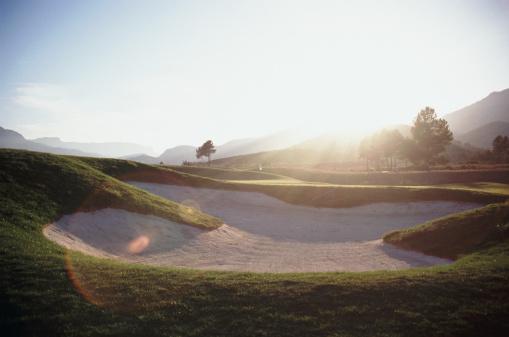 Sand Trap「bunker at golf course」:スマホ壁紙(9)
