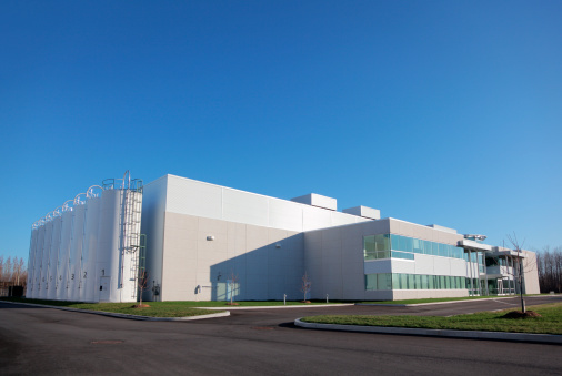 Industry「Large Manufacturing Plant」:スマホ壁紙(19)