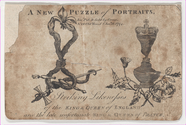 18th Century Style「Puzzle Portraits Of The Kings And Queens Of England And France」:写真・画像(10)[壁紙.com]