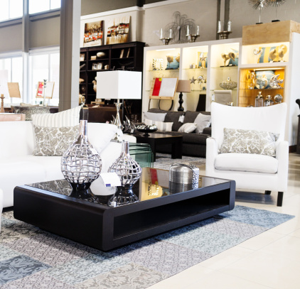 For Sale「Home decor store displaying elegant furniture and accessories」:スマホ壁紙(6)