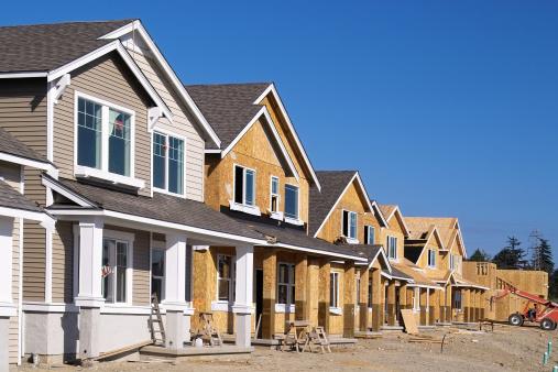 Development「Housing Development Under Construction」:スマホ壁紙(8)