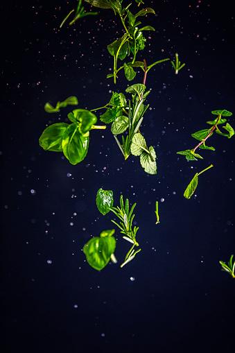 Basil「Herb Spice Mix Food Explosion」:スマホ壁紙(19)