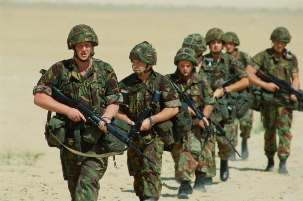 Persian Gulf Countries「Soldiers In Saudi」:写真・画像(17)[壁紙.com]