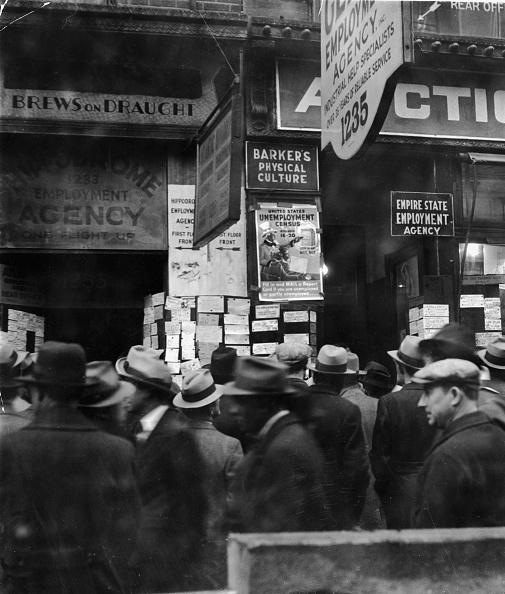 1930-1939「Unemployed During Great Depression」:写真・画像(4)[壁紙.com]