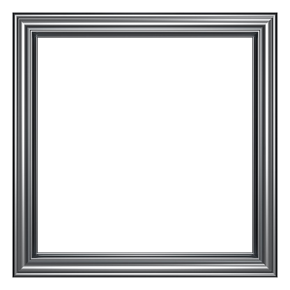 Square - Composition「Frame Series I - Square / Chrome (with Clipping Path)」:スマホ壁紙(3)