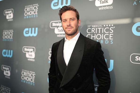 アーミー ハマー「The 23rd Annual Critics' Choice Awards - Red Carpet」:写真・画像(0)[壁紙.com]