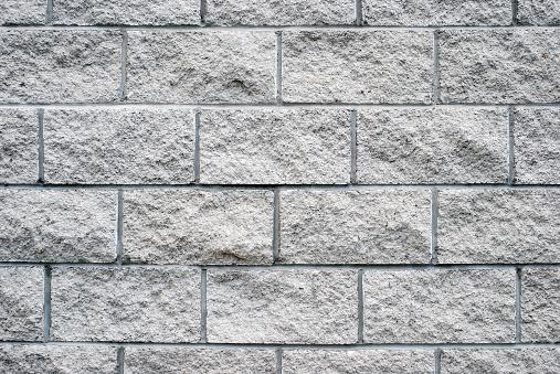 Marble - Rock「White granite brick wall texture」:スマホ壁紙(3)