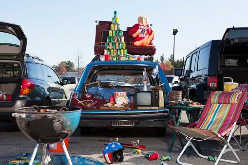 Kitsch「tailgate party scene」:スマホ壁紙(7)