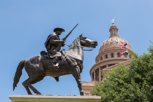 Horse「Terrys Texas Rangers, State Capitol building」:スマホ壁紙(10)