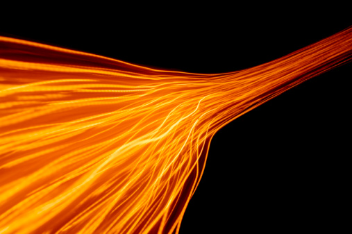 Light Trail「Abstract fire and light trails and effects」:スマホ壁紙(9)
