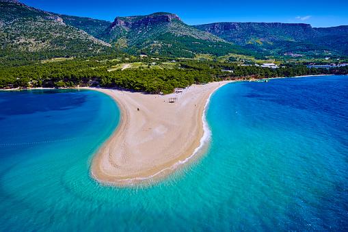 Croatia「Croatia, Dalmatia, Brac Island, Zlatni rat beach」:スマホ壁紙(19)